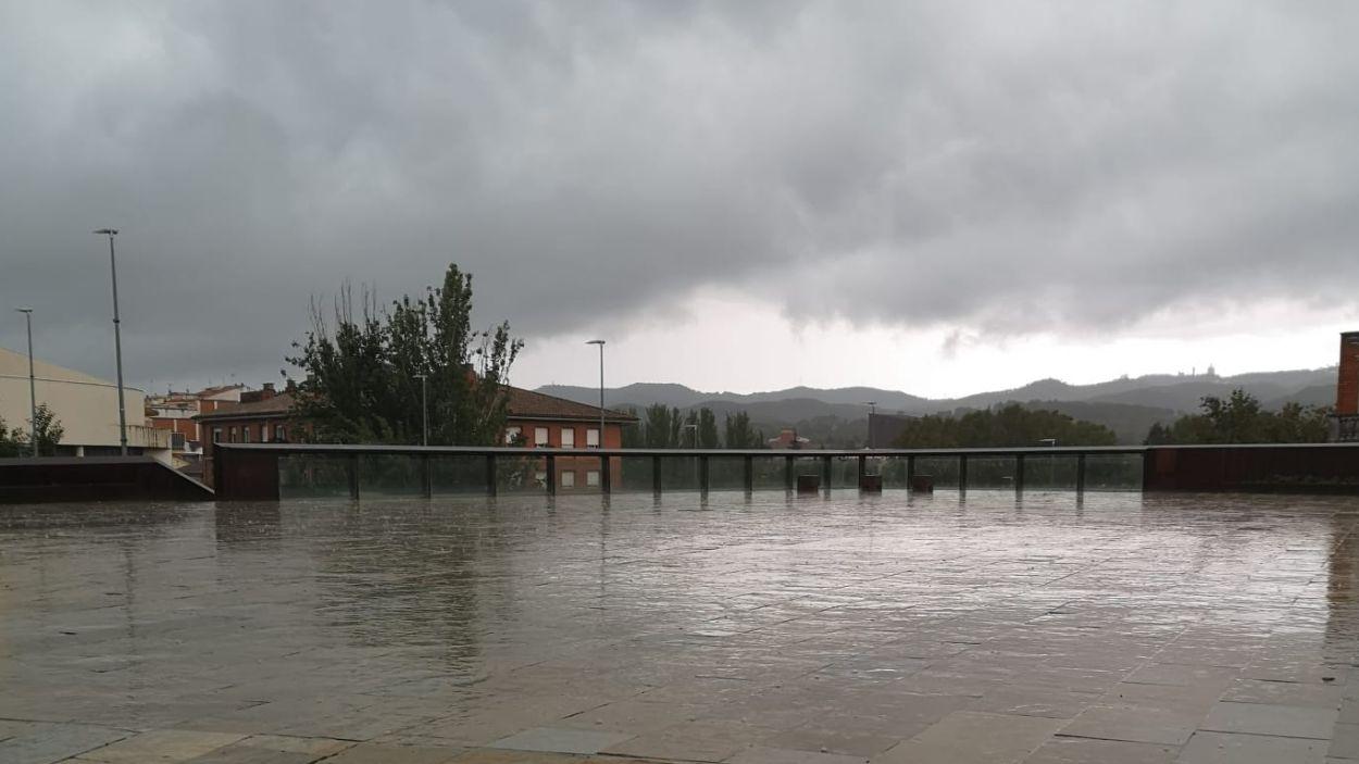 L'episodi de pluja encara pot afectar Sant Cugat / Foto: Cugat Mèdia