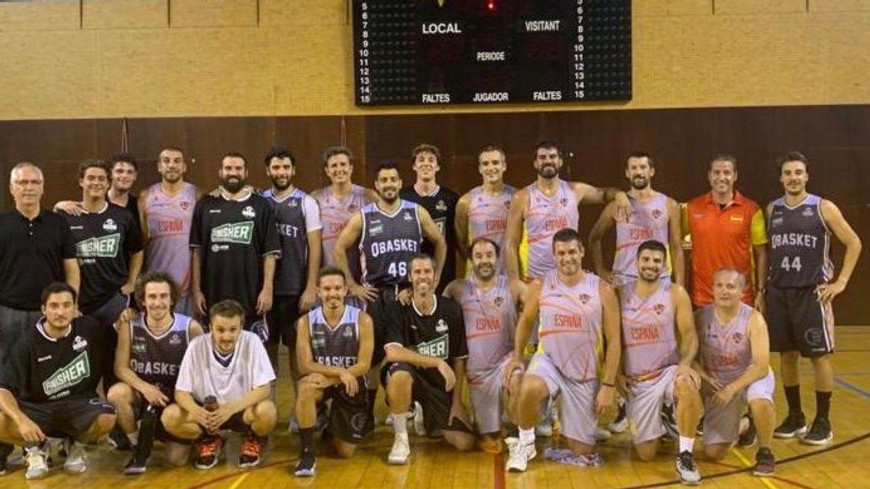 El Qbasket es prepara per a la lliga amb diferents amistosos / Font: Qbasket Sant Cugat