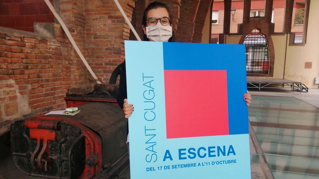 La tinenta d'alcaldia de Cultura, Esther Madrona, ha presentat el cicle aquest dimecres / Foto: Cugat Mèdia