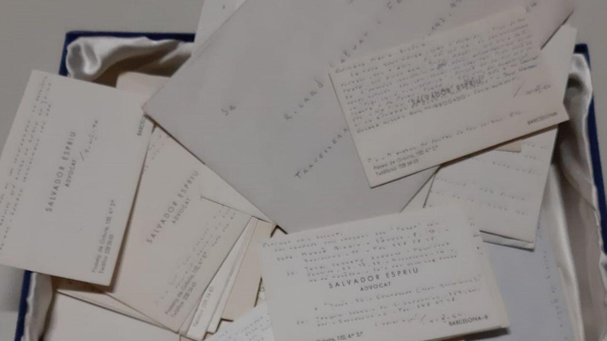 El fons documental s'ha guardat en 209 caixes / Foto: ANC