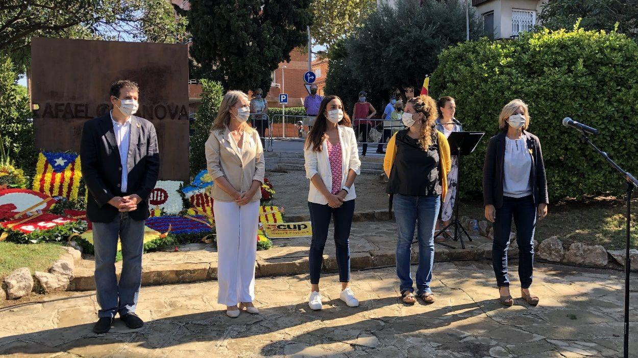 Imatge dels representants polítics amb representació a l'Ajuntament de Sant Cugat / Foto: Cugat Mèdia