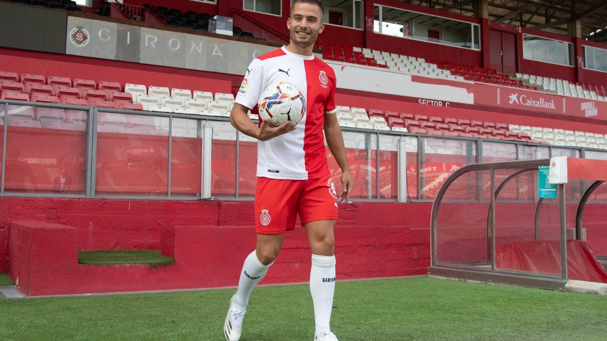 Enric Franquesa jugarà amb el Girona aquesta temporada / Font: Girona FC