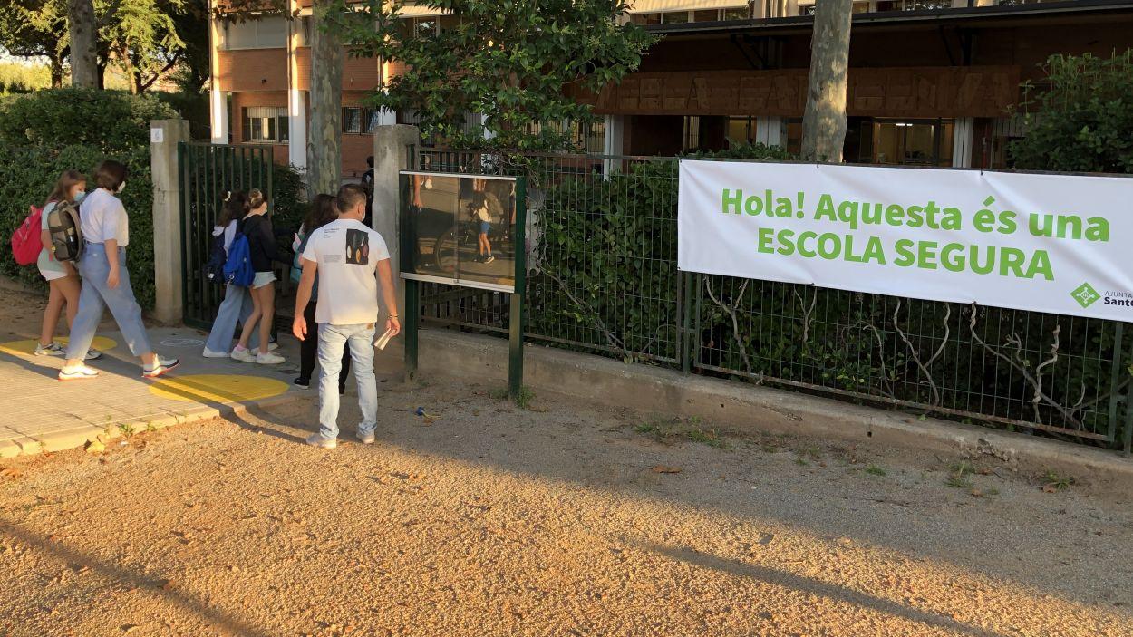 Segons les dades de Salut, a Sant Cugat hi ha 18 grups estables confinats / Foto: Cugat Mèdia