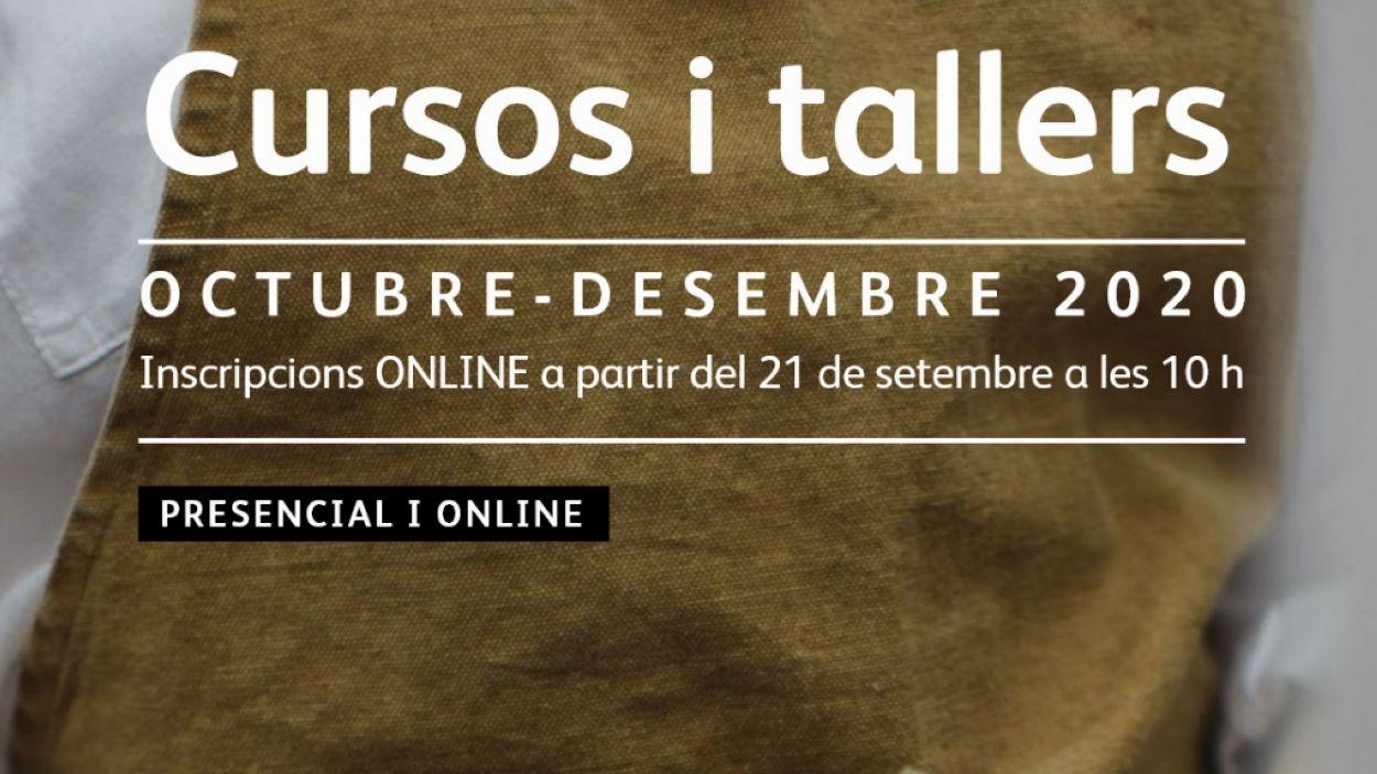 Els cursos seran tant presencials com en línia / Foto: Ajuntament