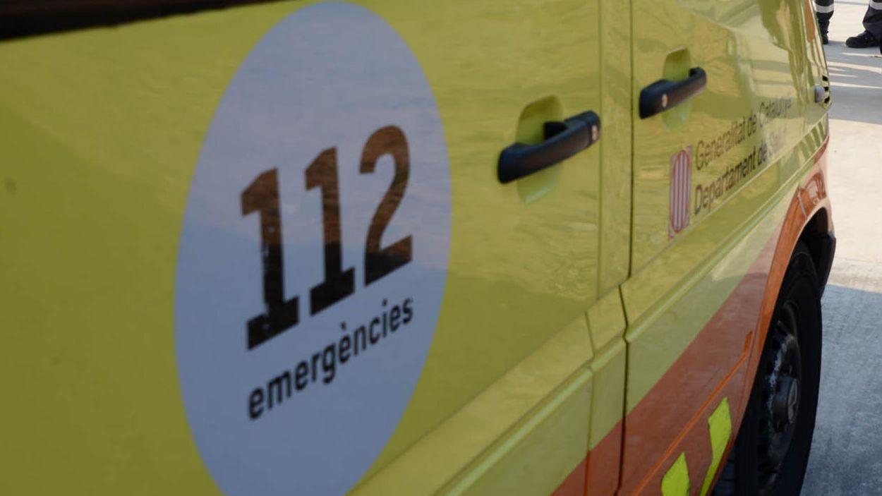 Imatge d'arxiu d'una ambulància / Foto: Localpres