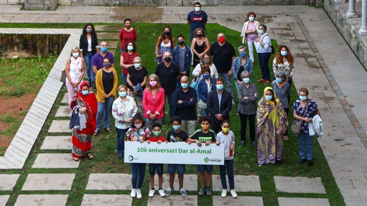 La Casa de l'Esperança de Sant Cugat ha celebrat l'aniversari al Claustre / Foto: Lali Puig