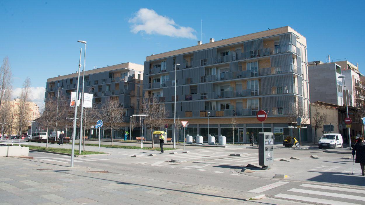 Una promoció d'habitatges de Promusa al barri del Monestir / Foto: Localpres - Jordi Garcia