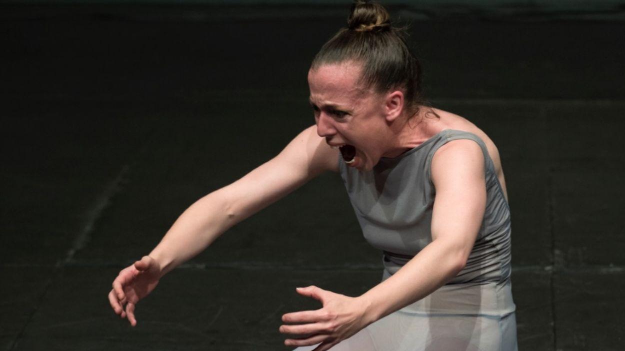 Un moment de l'espectacle de dansa 'Cronexiones' / Foto: Cedida
