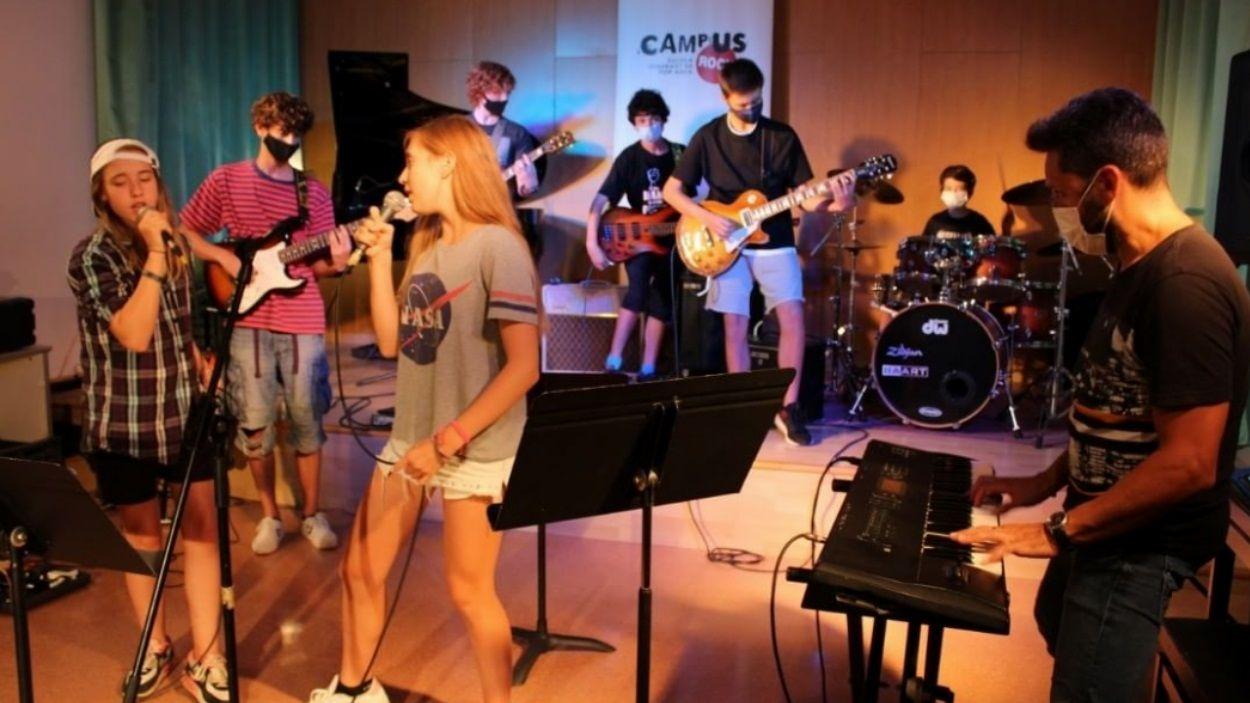 Imatge d'una edició d'aquest any del Campus Rock / Foto: Campus Rock