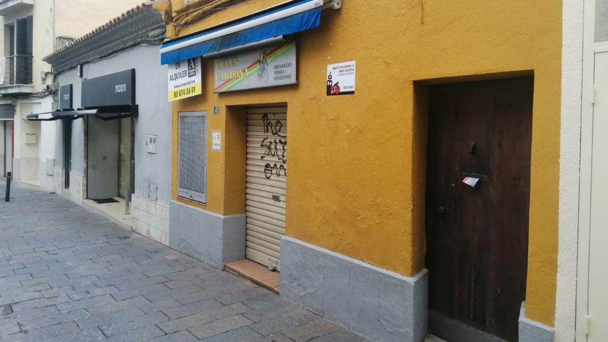 El local de Cicles Cardona / Foto: Cugat Mèdia