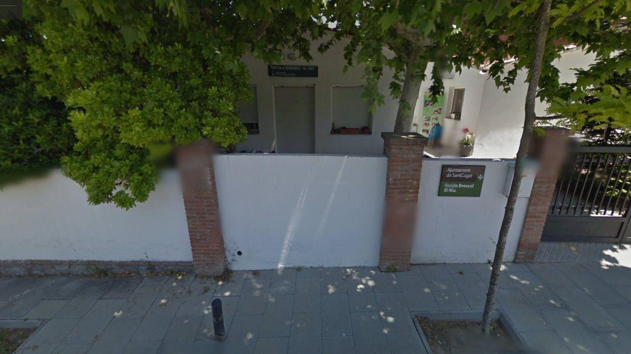 L'escola El Niu està situada a Mira-sol / Foto: Google Maps