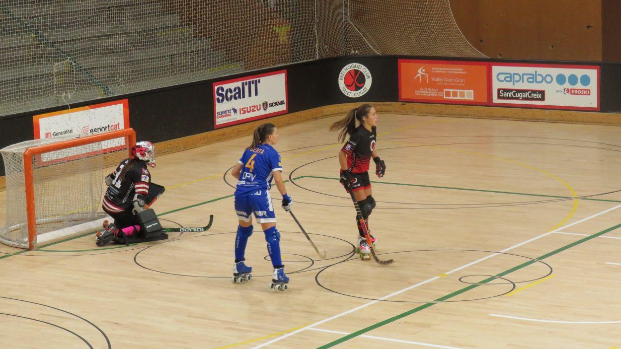 Imatge del partit entre el Patí Hoquei i el Voltregà / Font: Patí Hoquei