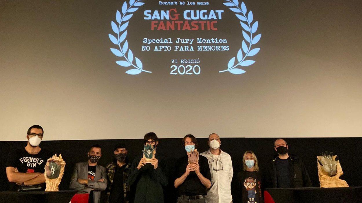 Imatge d'alguns dels premiats de la 6a edició / Foto: Sant Cugat Fantàstic