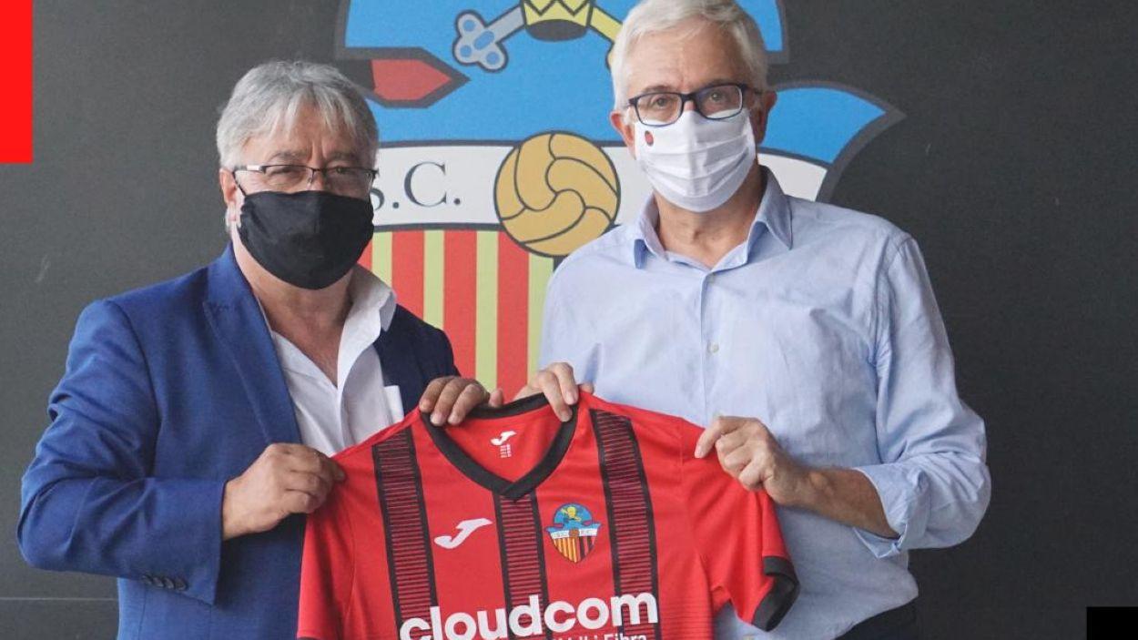 Cloudcom segueix patrocinant el SantCu / Font: Sant Cugat FC