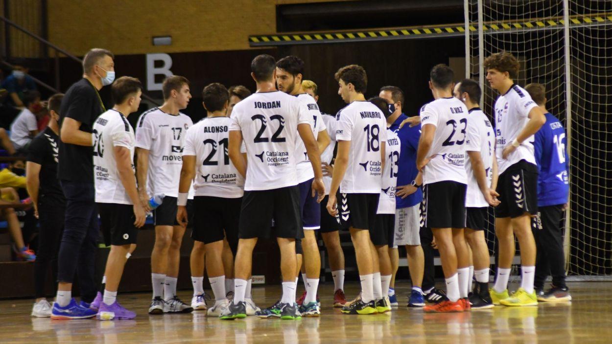 Imatge del nou Handbol Sant Cugat / Font: Anna Maymus