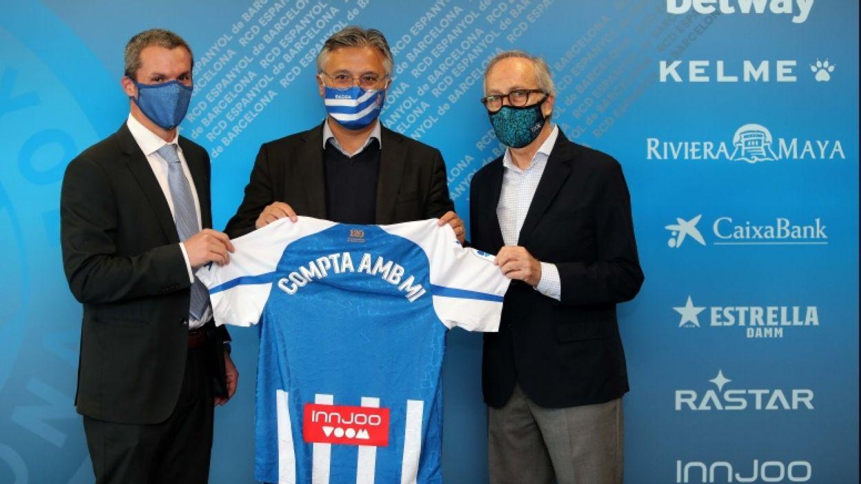 Pericos de Sant Cugat reforça el seu compromís amb el RCD Espanyol / Font: RCD Espanyol