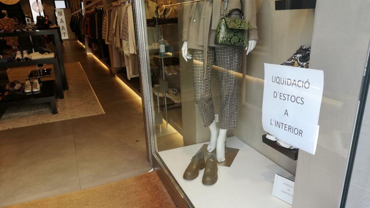 Els descomptes seran, aquesta vegada, dins les botigues / Foto: Cugat Mèdia