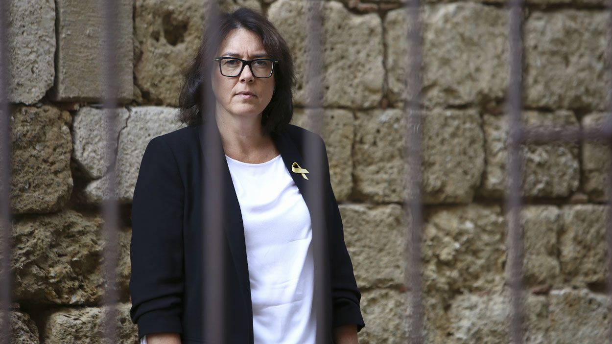 Diana Riba, eurodiputada d'ERC, en una imatge d'axiu / Foto: Lluís Llebot (Cugat Mèdia)