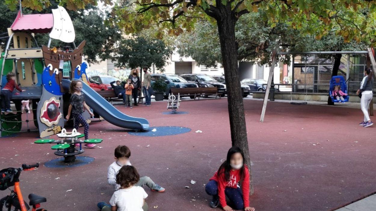 Un dels parcs infantils de Sant Cugat / Foto: Cugat Mèdia