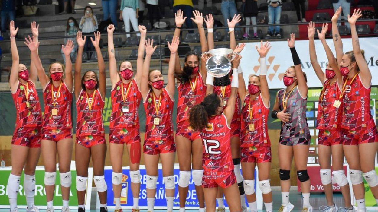 L'Avarca Menorca de Maria Sanchís ha guanyat la Supercopa / Font: Àngel Sanchís