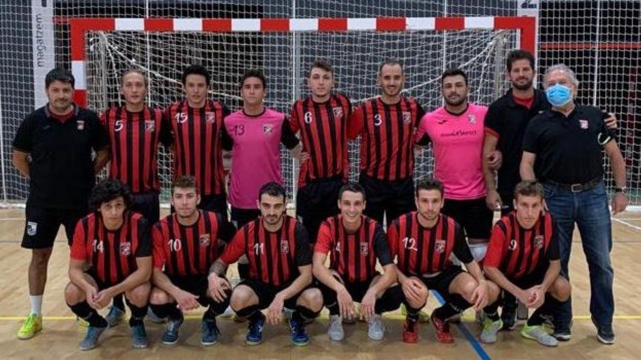 Una imatge d'arxiu del Futbol Sala Sant Cugat / Foto: FSSC