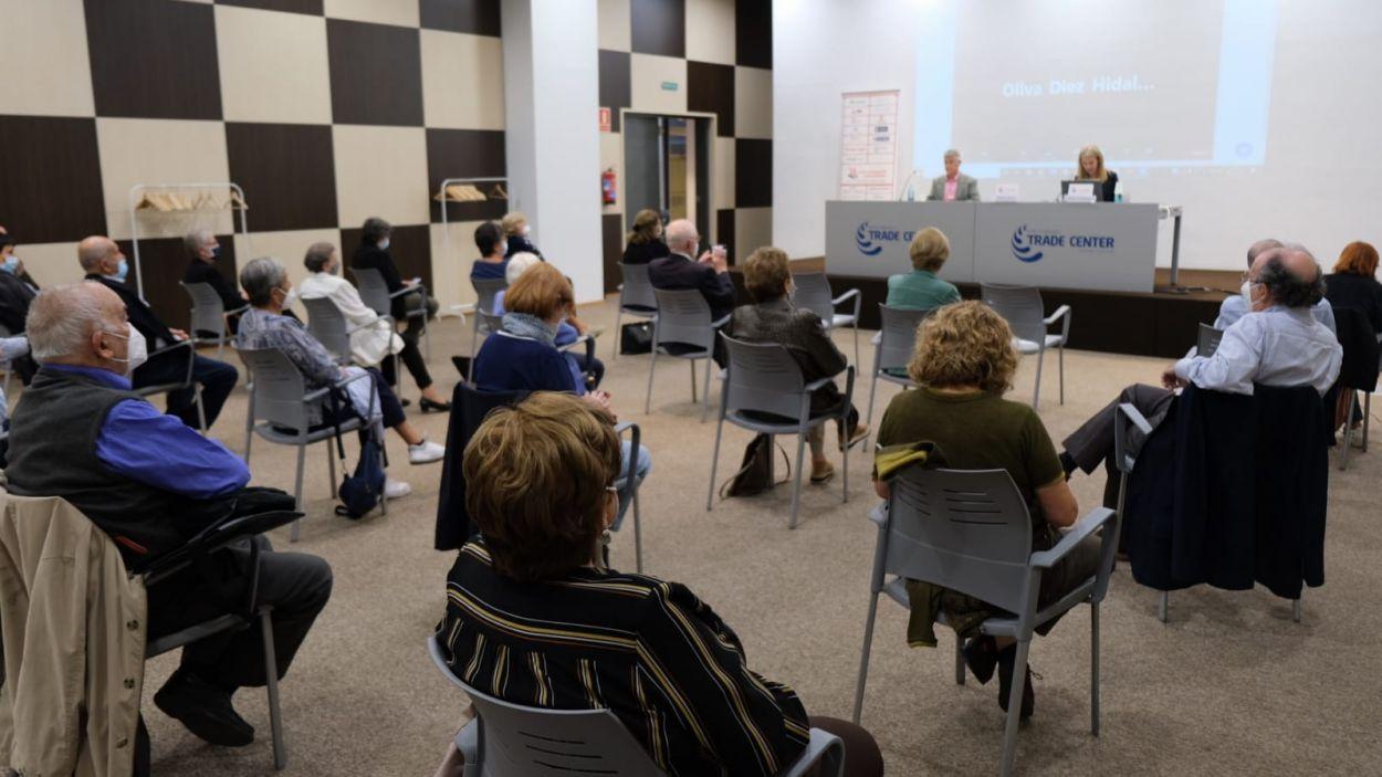 L'AEU ha inaugurat el curs al SC Trade Center / Foto: Cugat Mèdia