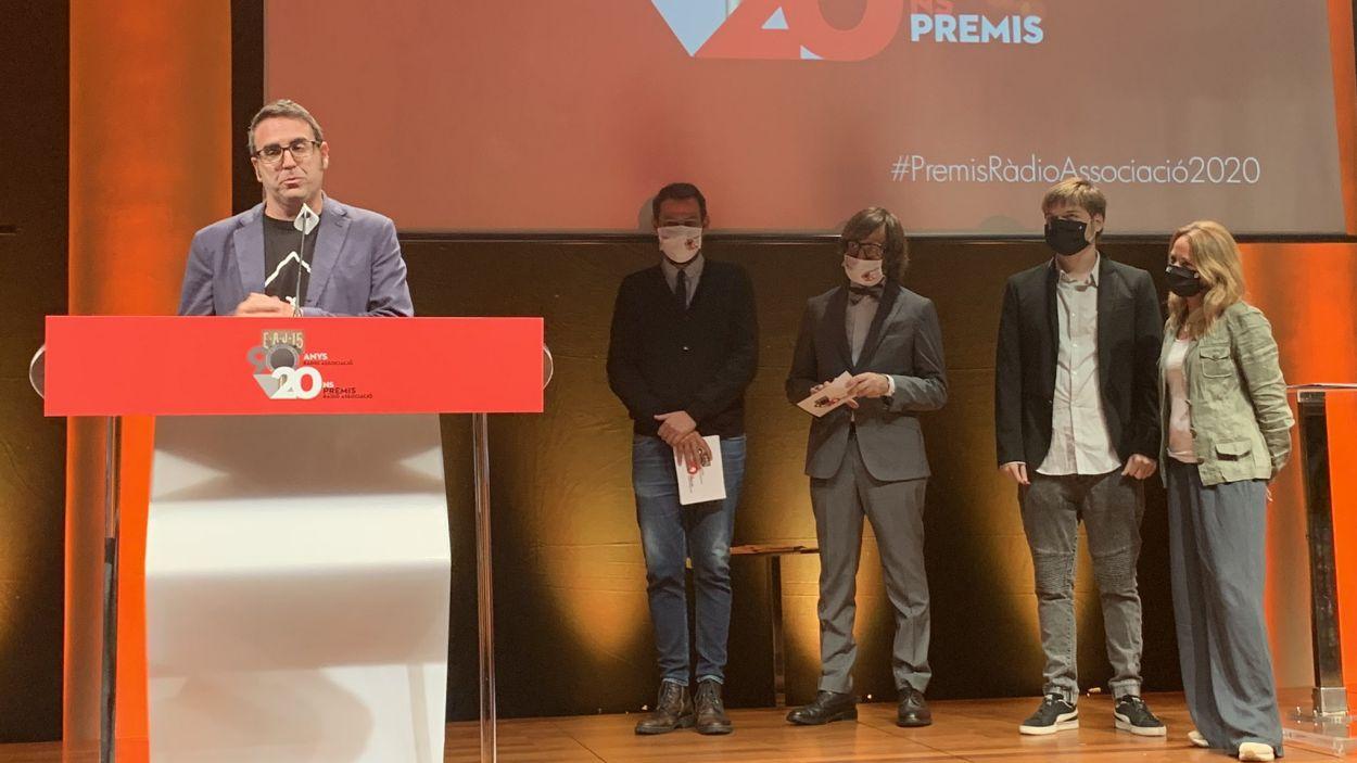 La cerimònia ha tingut lloc a la sala Foyer del Liceu / Foto: Ràdio Associació de Catalunya