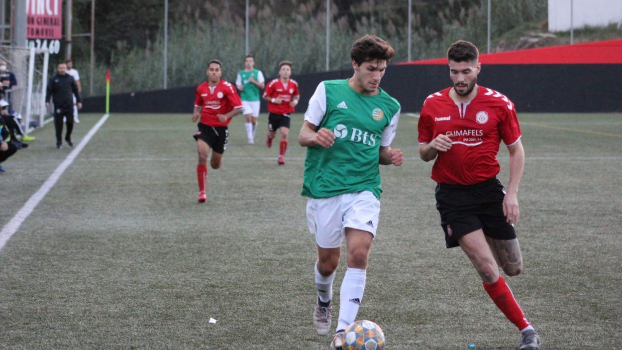 Álvaro Bretons durant un matx amb el Valldoreix / Font: Valldoreix FC