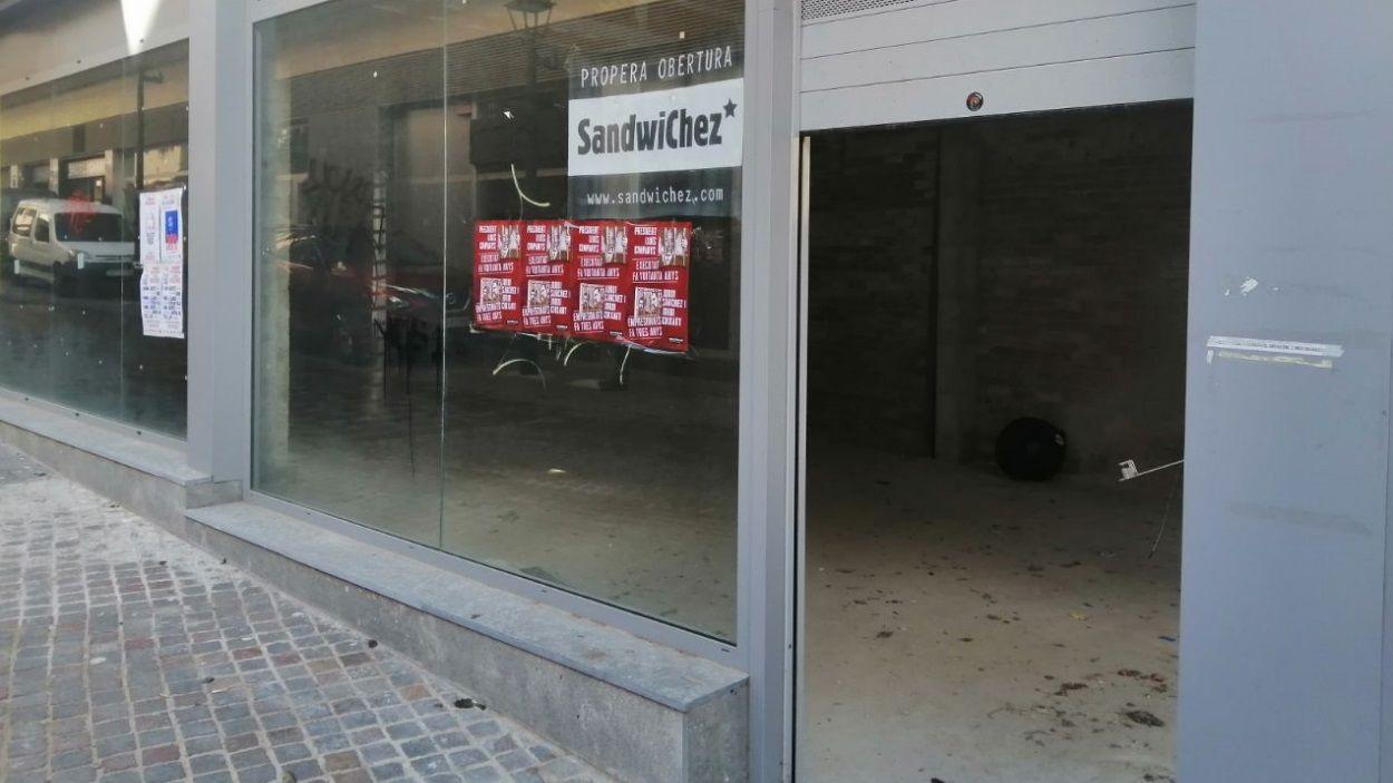 El nou local se situarà al carrer Valldoreix / Foto: Cugat Mèdia