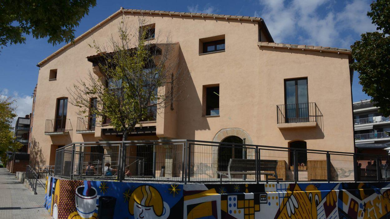 L'Oh!Ficina Jove de Sant Cugat s'ubica al Casal Torreblanca / Foto: Localpres