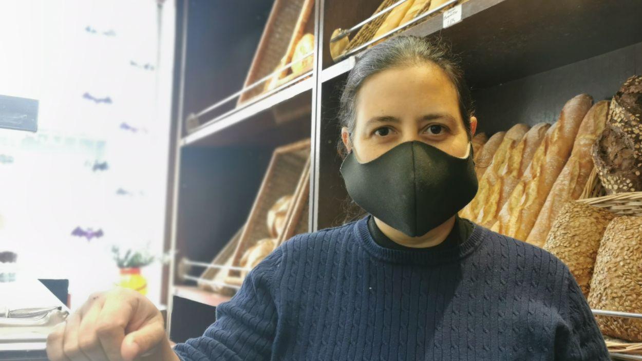 Kety Ramos, propietària del Petritxol / Foto: Cugat Mèdia