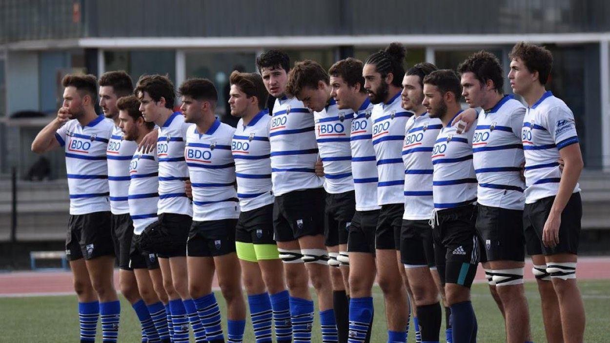 El Club Rugby Sant Cugat, en una imatge d'arxiu. / Foto: Josep Serrano
