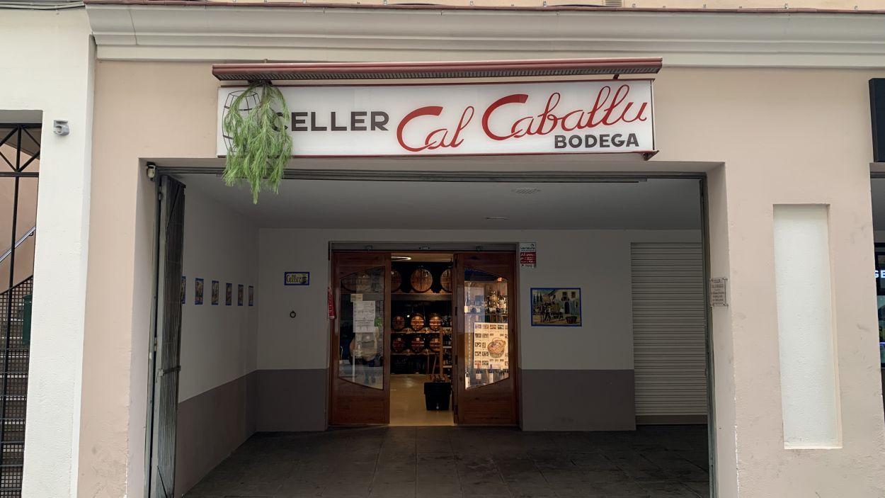 Façana de Cal Caballu / Foto: Lluís Llebot