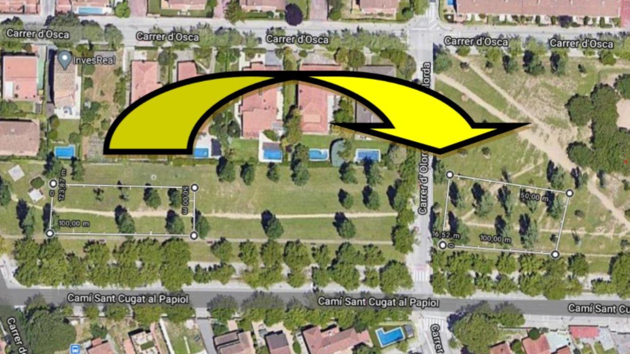 Una de les propostes del veïnat / Foto: Xavier Olivella