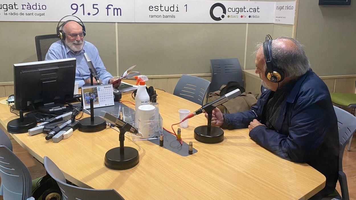 Eduard Jener i Josep Ferré / Foto: Cugat Mèdia
