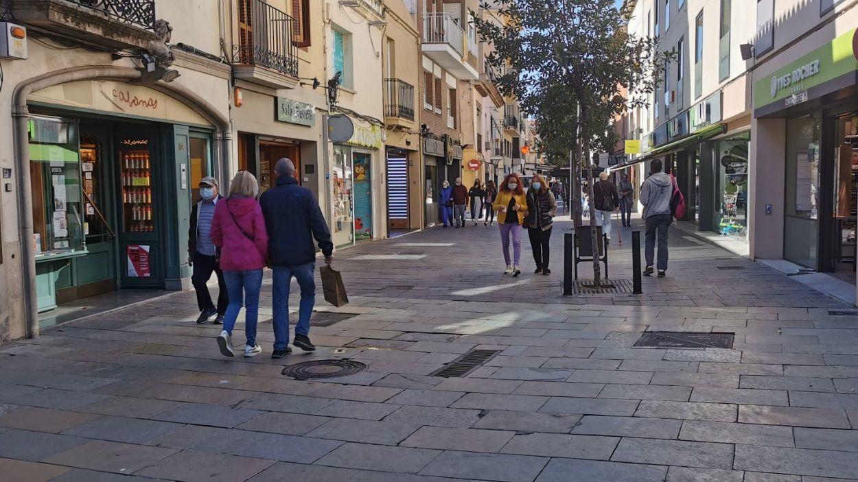 El carrer Santiago Rusiñol / Foto: Cugat Mèdia