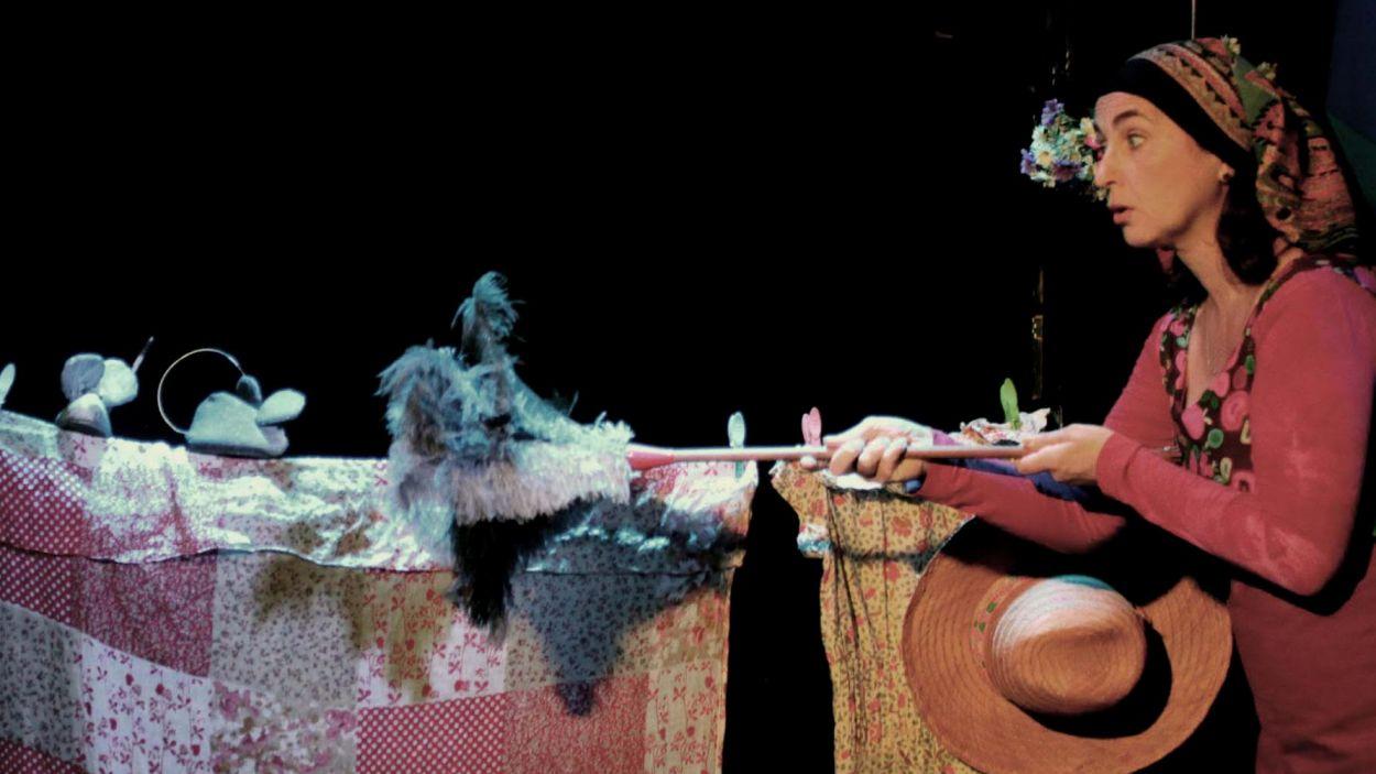 Imatge d'arxiu d'un espectacle de titelles / Foto: Can Ninot