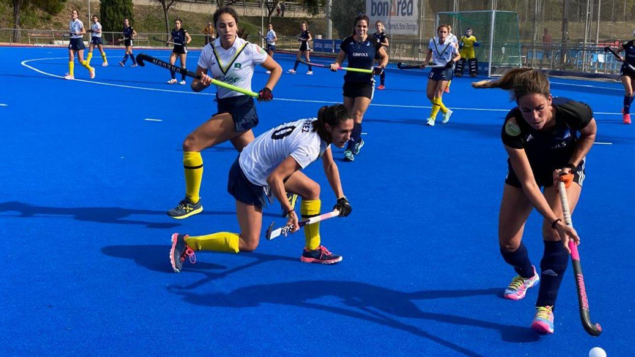 Imatge del partit entre el Junior i el Club de Campo / Font: Cugat Mèdia