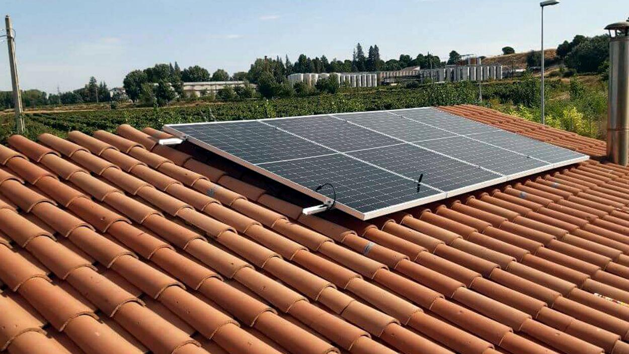 Imatge d'arxiu d'una placa fotovoltaïca / Foto: ACN