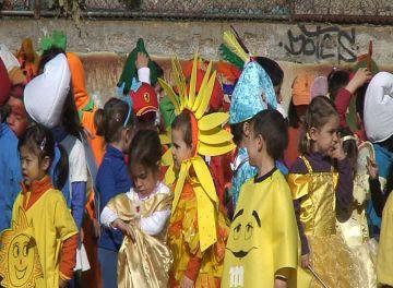 L'escola Joan Maragall celebra el carnaval sense rua