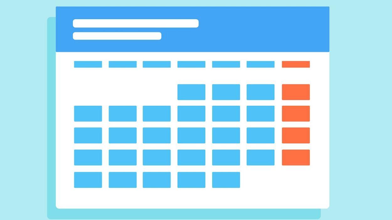 Calendari / Foto: Pixabay