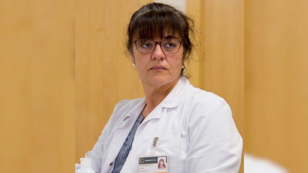 La doctora Salvadora Delgado / Foto: Mútua Terrassa