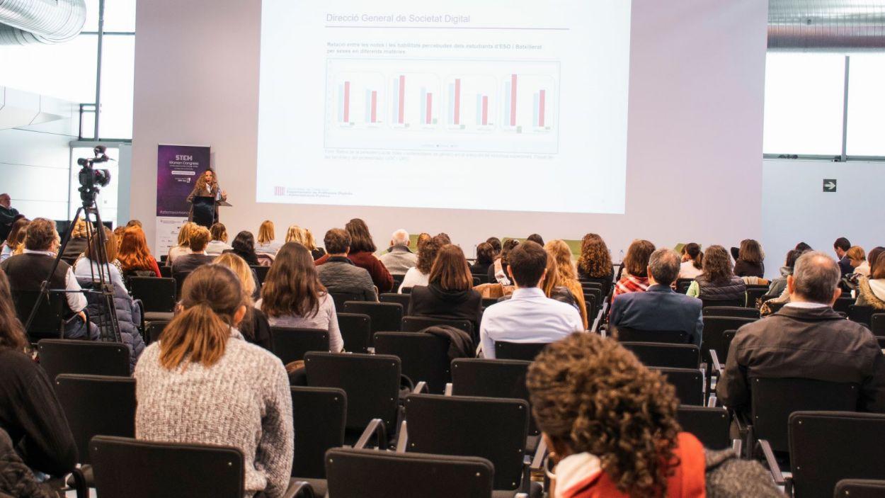 Celebració de la primera edició del STEM Women Congress a Barcelona / Foto: SWC