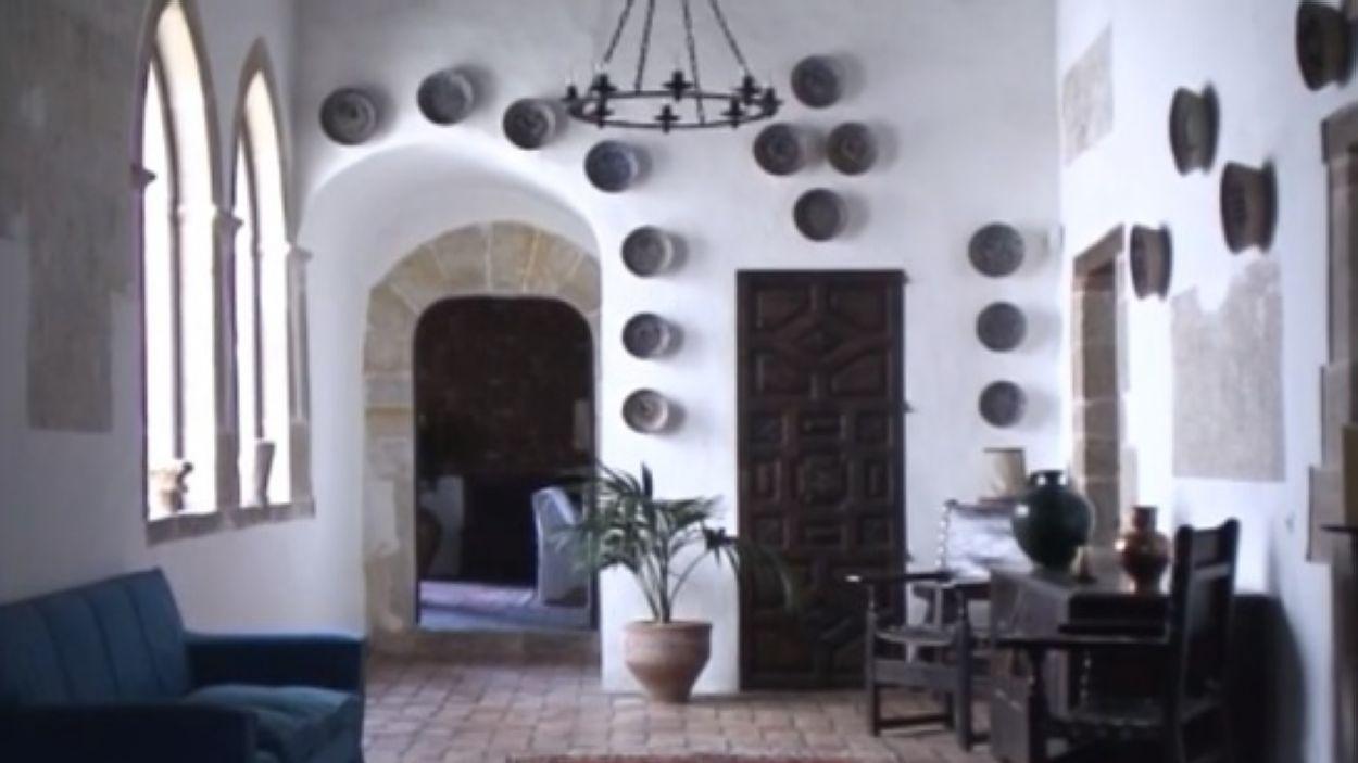 Imatge de l'interior de la Torre Negra / Foto: Cugat Mèdia