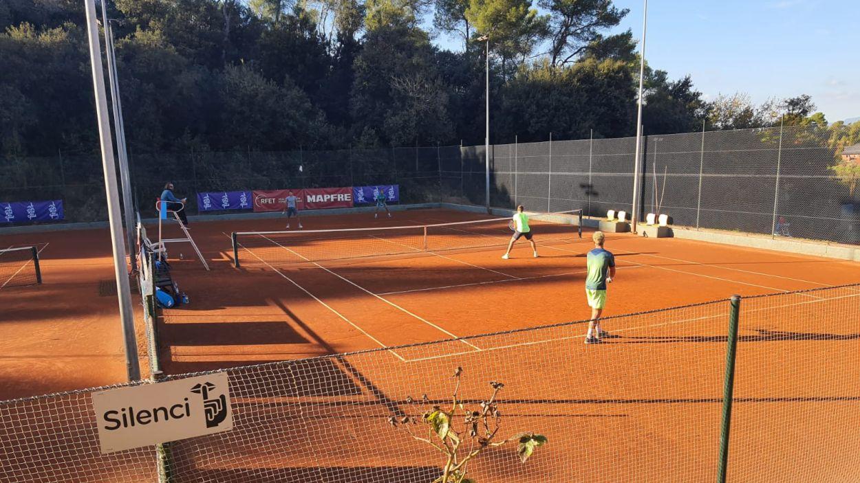 La competició es disputa a les pistes valldoreixenques / Foto: Club Esportiu Valldoreix