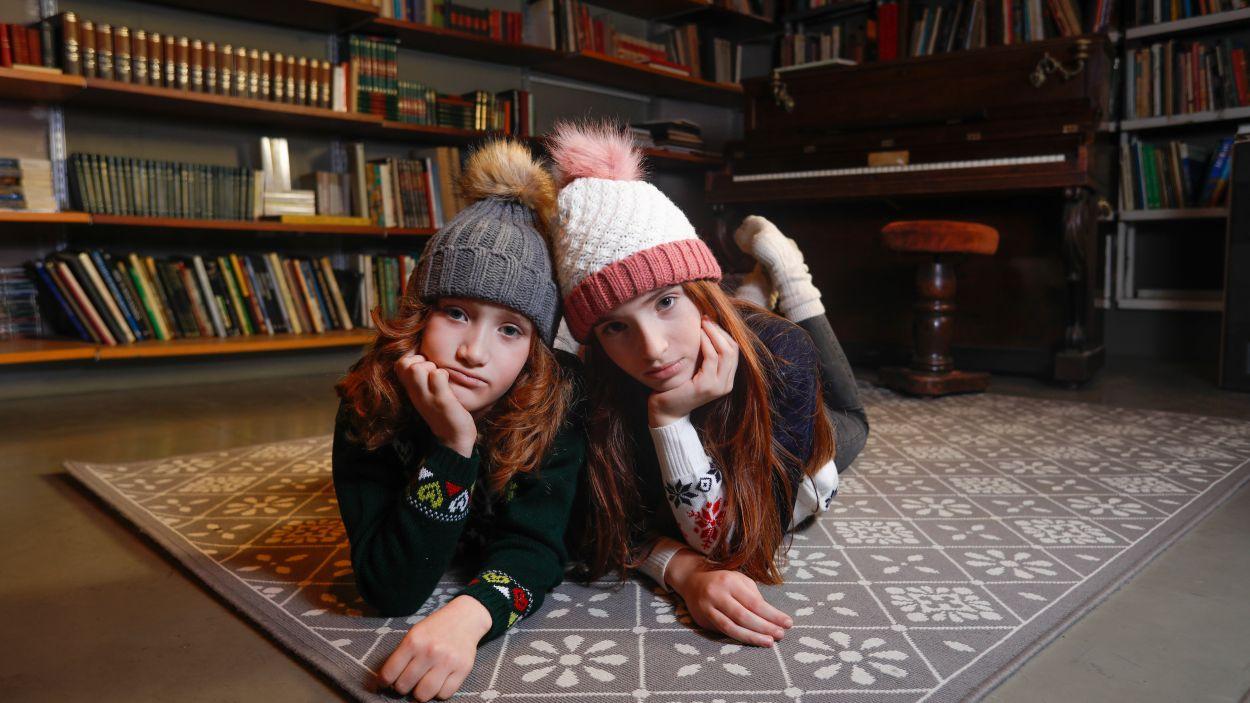 Desfilada nadalenca benèfica de moda infantil