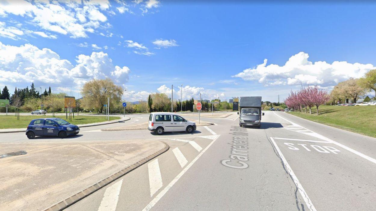 Imatge de la zona on s'ha produït l'accident / Foto: Google Maps