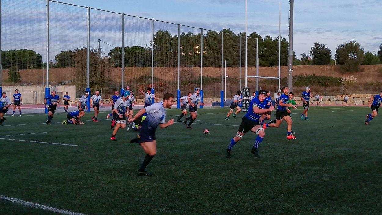 Un partit anterior del Rugby Sant Cugat / Foto: Cugat Mèdia