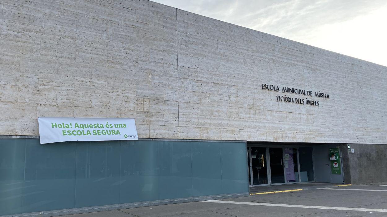 L'Escola defensa que l'aprenentatge sigui presencial / Foto: Cugat Mèdia