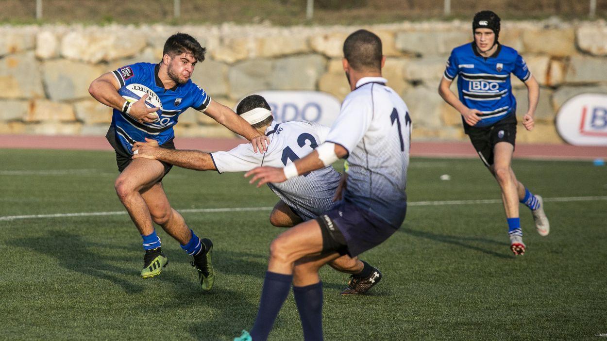 El Rugby Sant Cugat dona molt bona imatge en la derrota contra el CAU València